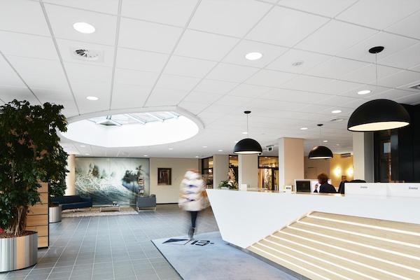 Акустические панели Ecophon из стекловолокна для бассейнов
