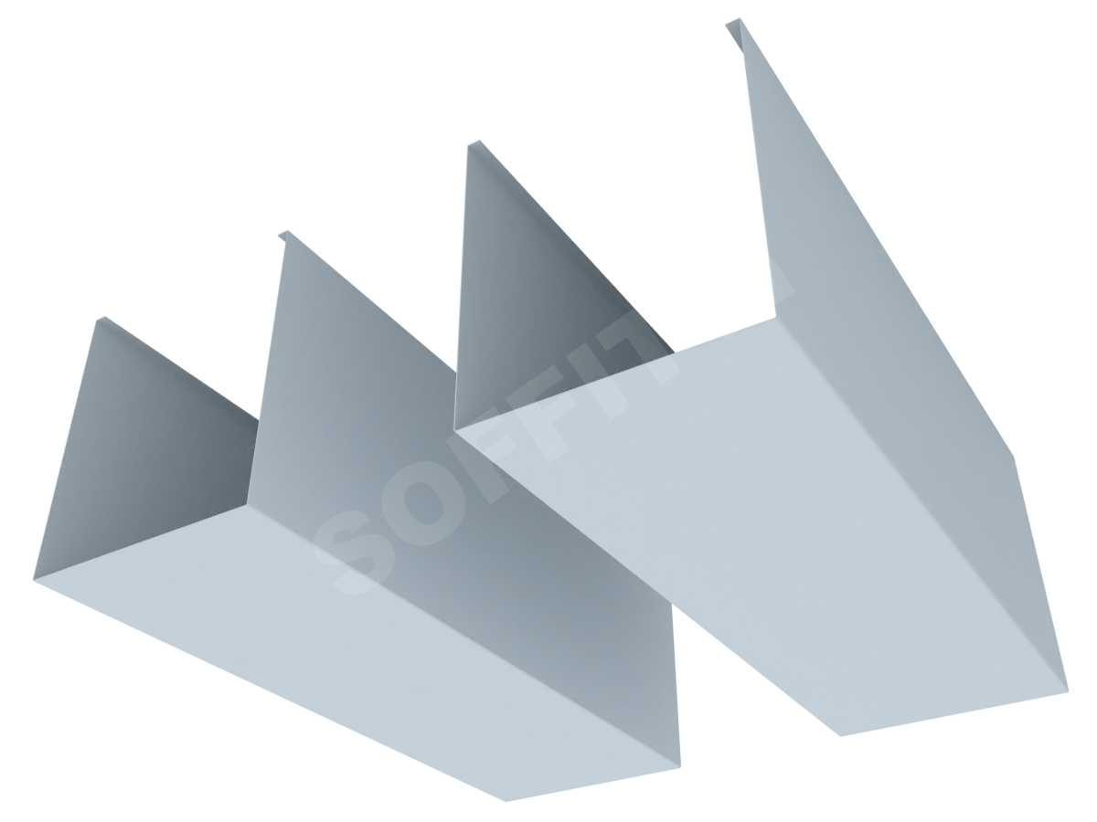 """Кубообразная рейка """"Сканди"""" 100x115 мм"""
