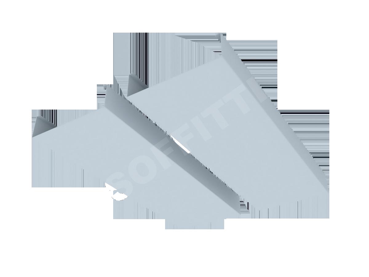 """Кубообразная рейка """"Сканди"""" 100x28 мм"""