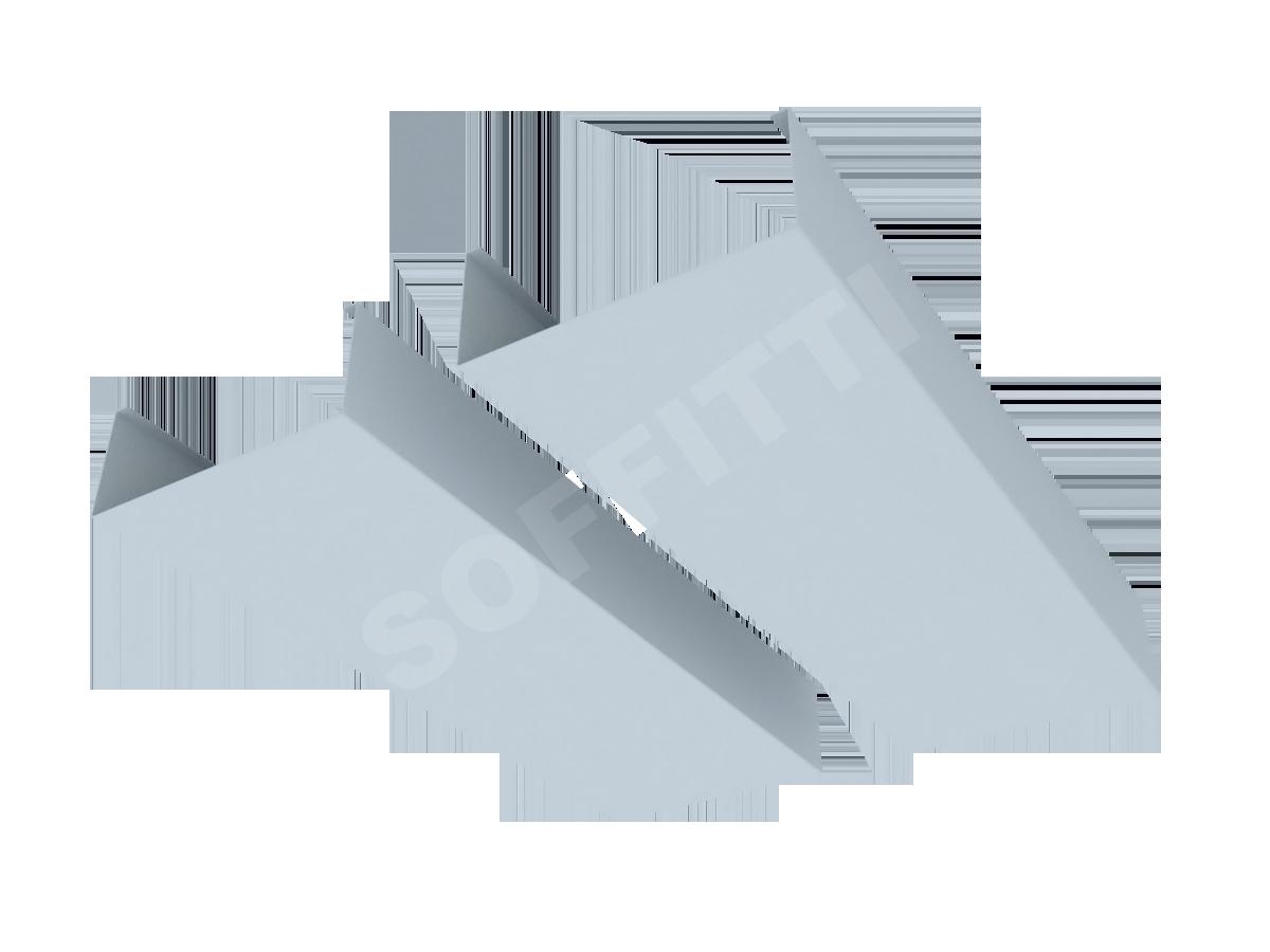 """Кубообразная рейка """"Сканди"""" 100x40 мм"""