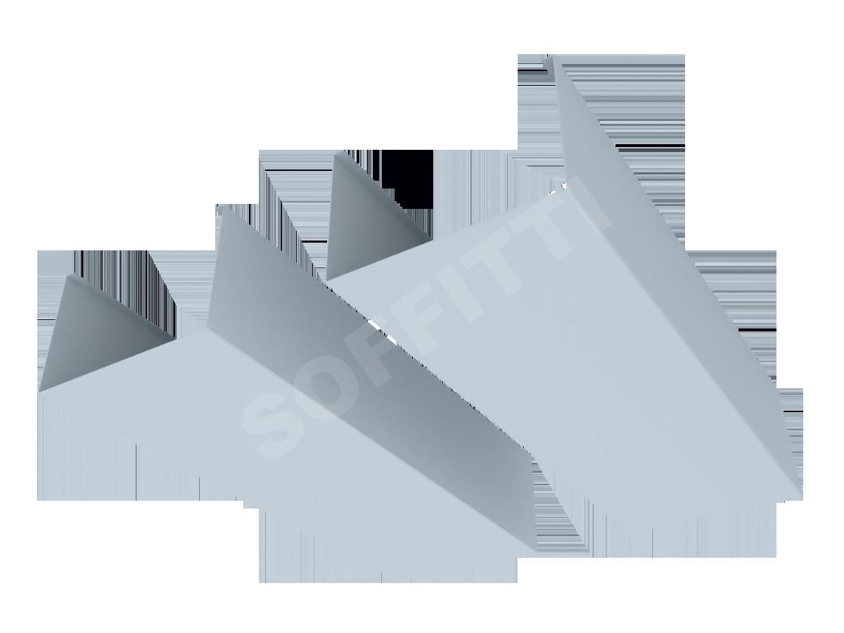 """Кубообразная рейка """"Сканди"""" 100x65 мм"""