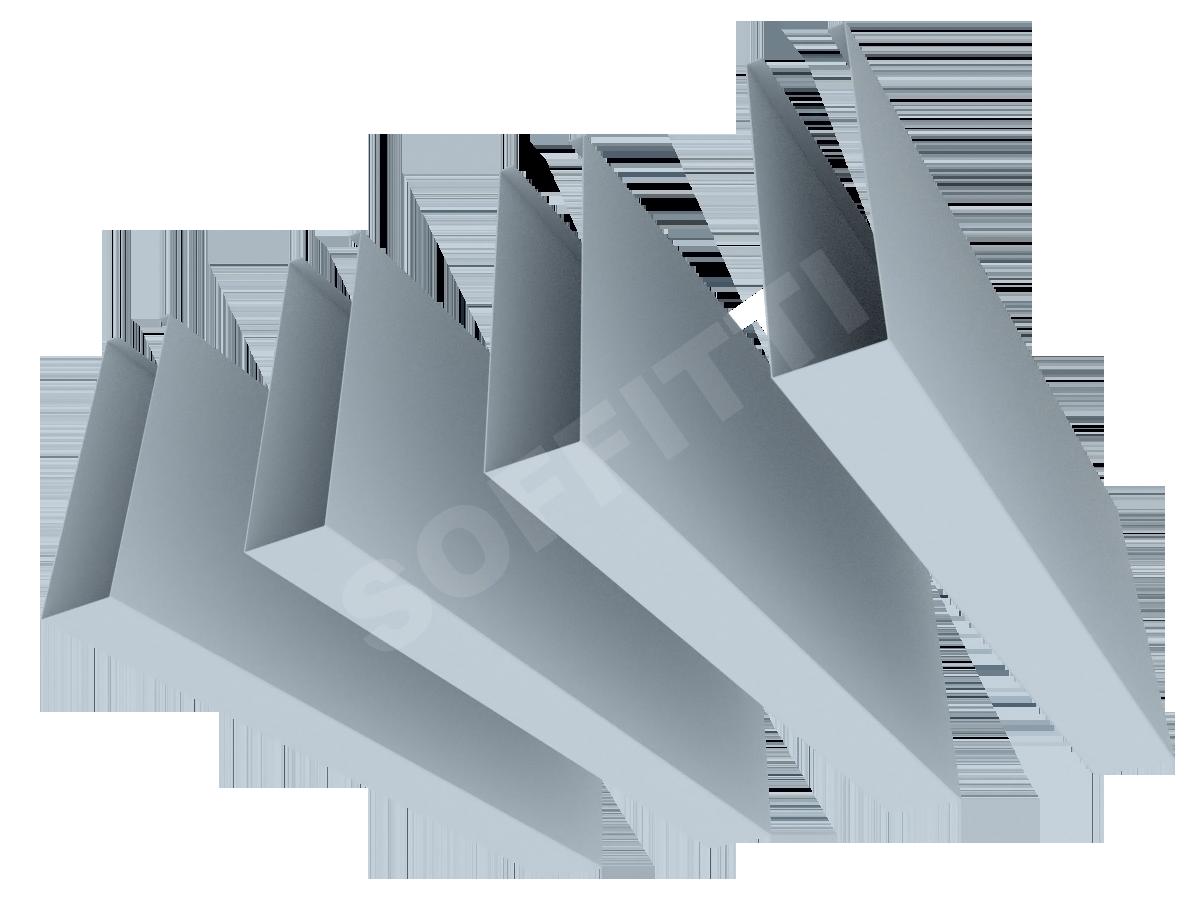Кубообразная рейка Албес A50S 30x110 мм