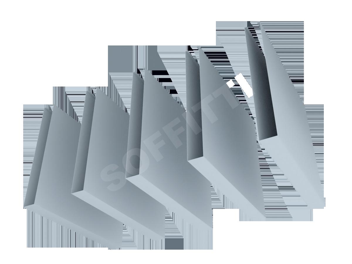 Кубообразная рейка Албес A50S 30x250 мм