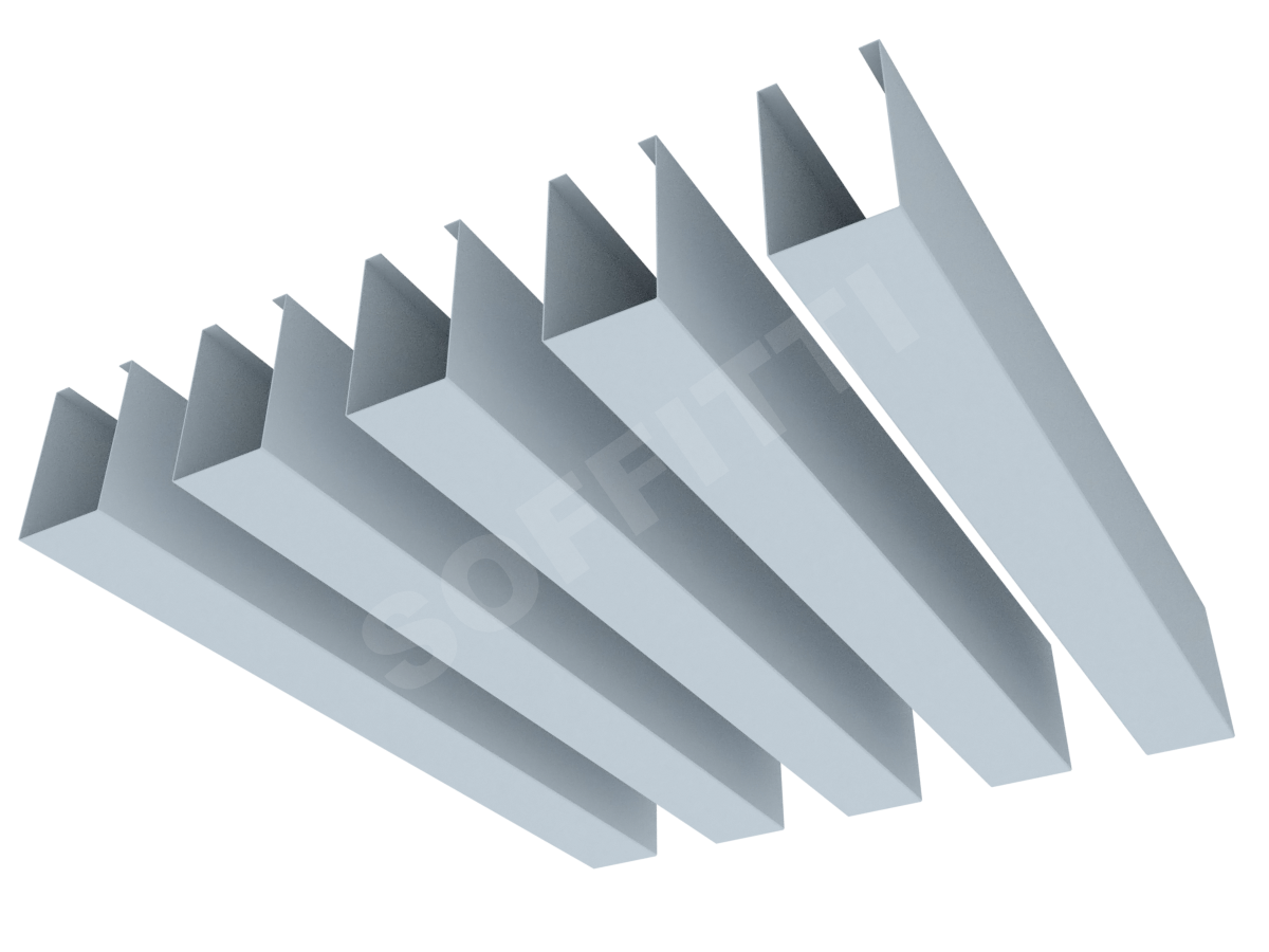 """Кубообразная рейка """"Мультикуб"""" 30x50 мм"""