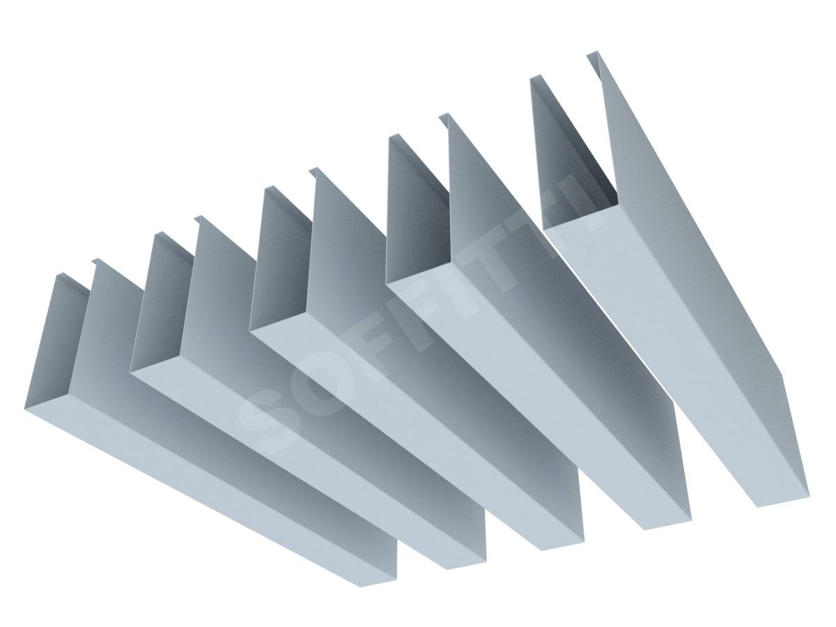 """Кубообразная рейка """"Мультикуб"""" 30x80 мм"""