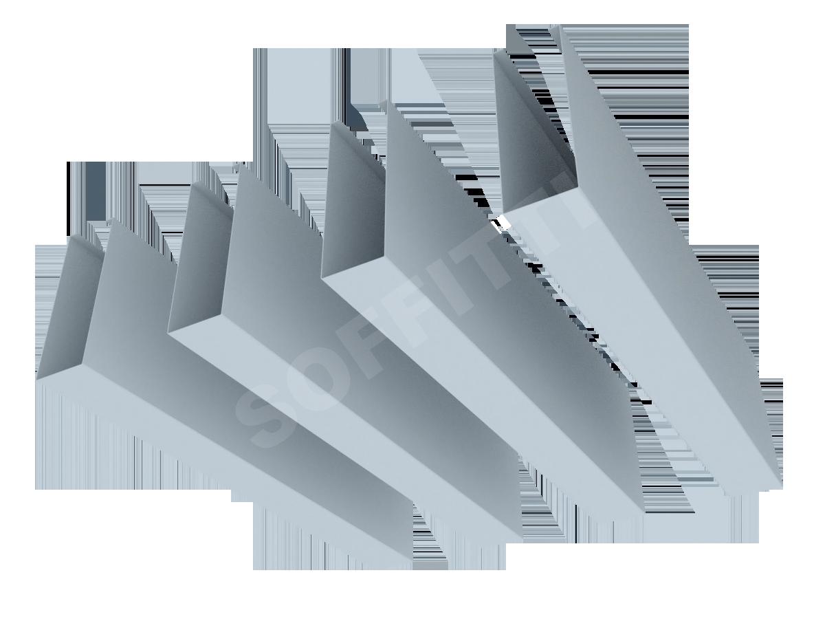 Кубообразная рейка Албес A50S 30x85 мм