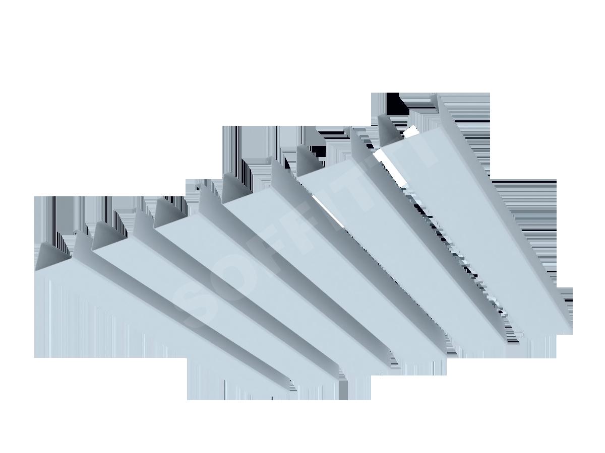 Кубообразная рейка Албес A70S 37,5x25 мм