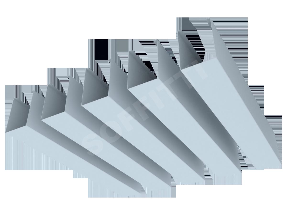 """Кубообразная рейка """"Сканди"""" 40x58 мм"""