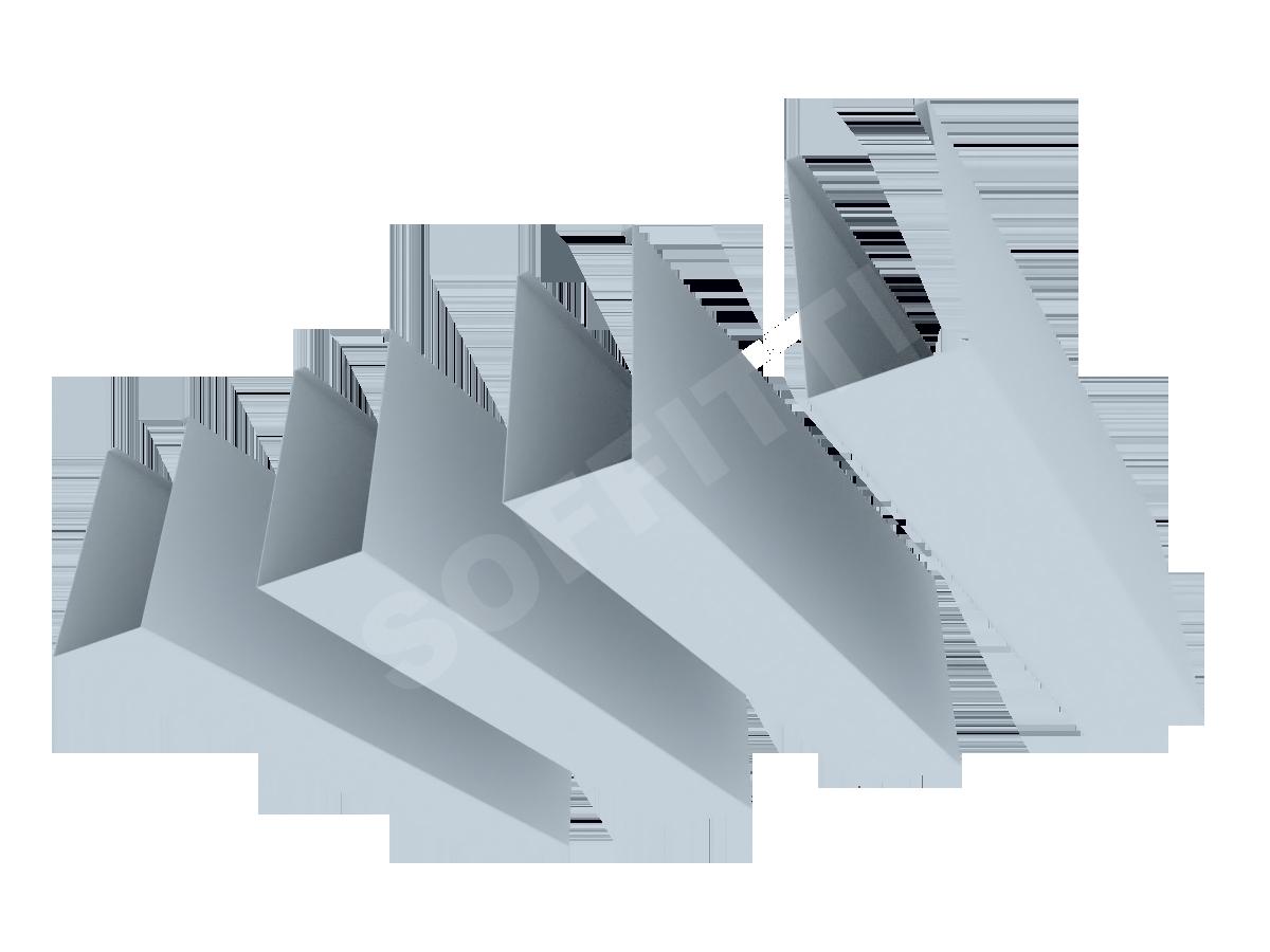 """Кубообразная рейка """"Мультикуб"""" 50x100 мм"""