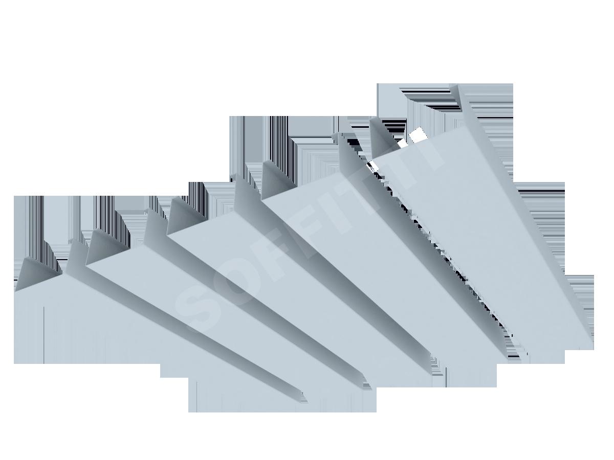 """Кубообразная рейка """"Сканди"""" 50x28 мм"""