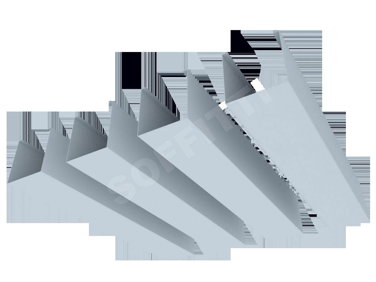 """Кубообразная рейка """"Сканди"""" 50x53 мм"""