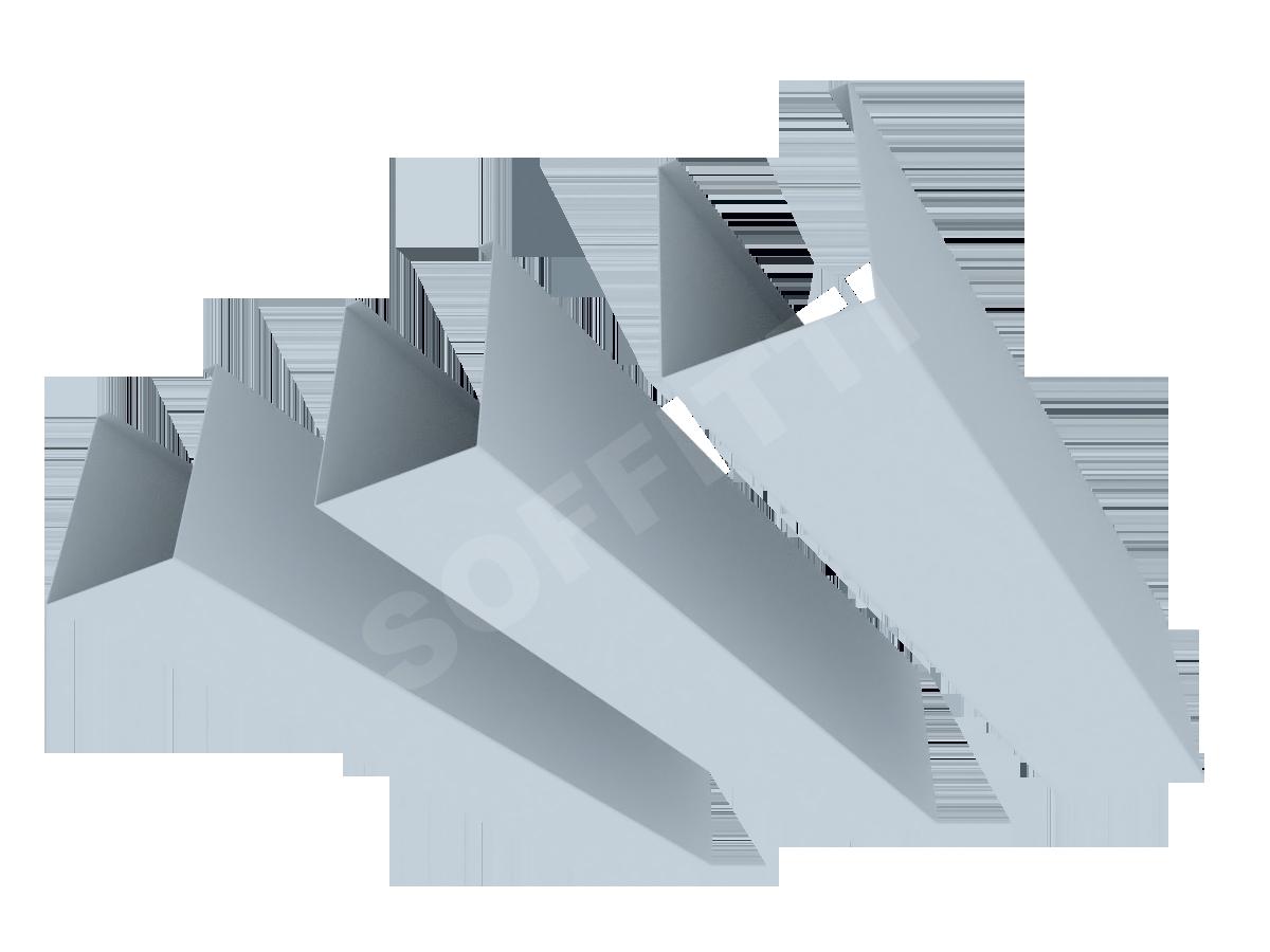 """Кубообразная рейка """"Сканди"""" 50x65 мм"""