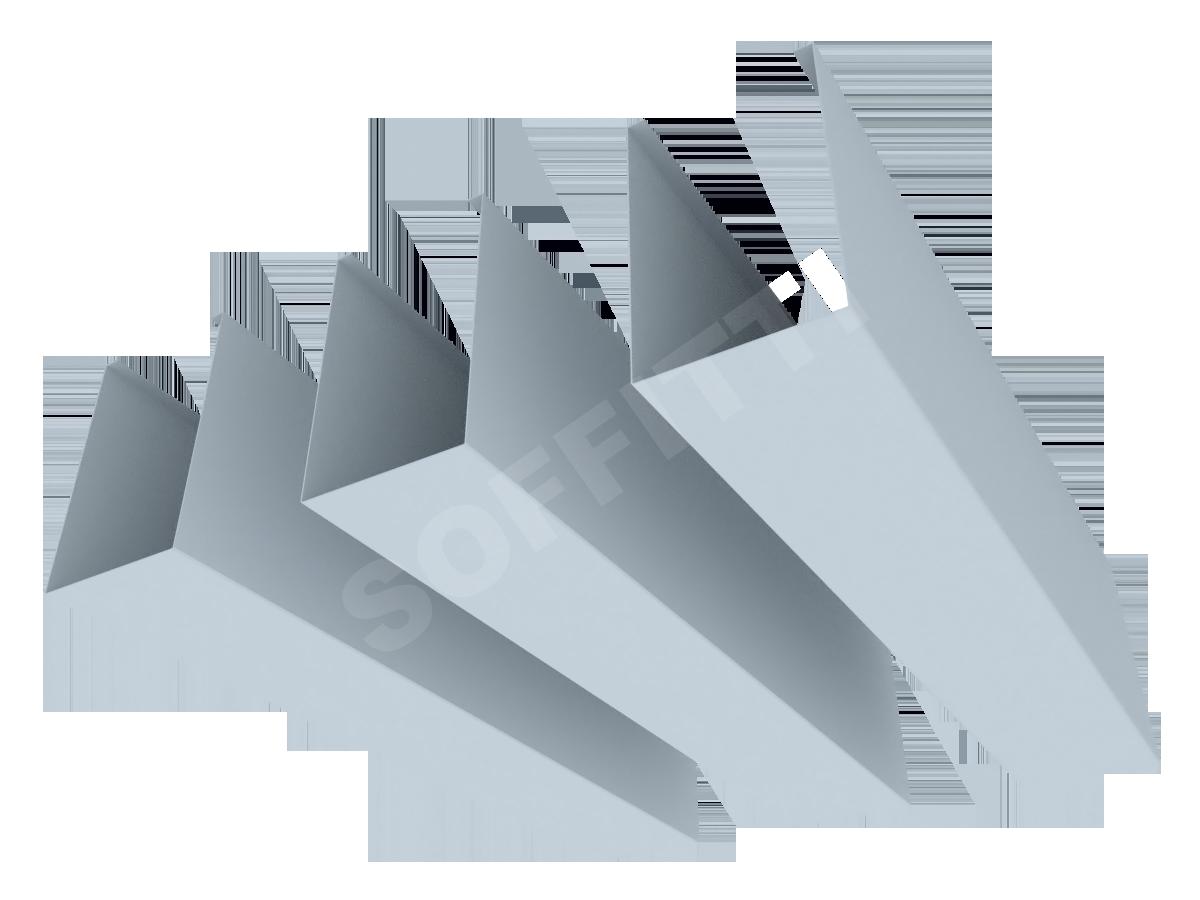 """Кубообразная рейка """"Мультикуб"""" 50x80 мм"""