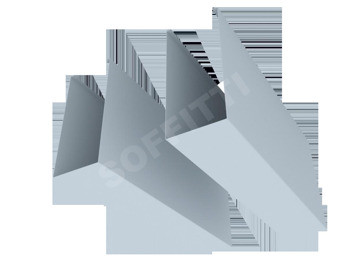 """Кубообразная рейка """"Сканди"""" 60x135 мм"""