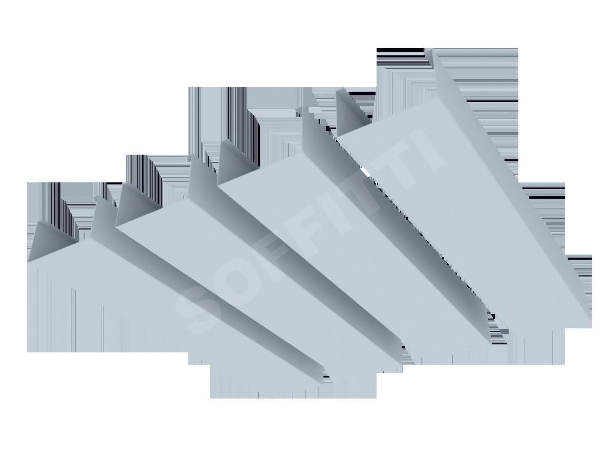 """Кубообразная рейка """"Сканди"""" 60x35 мм"""