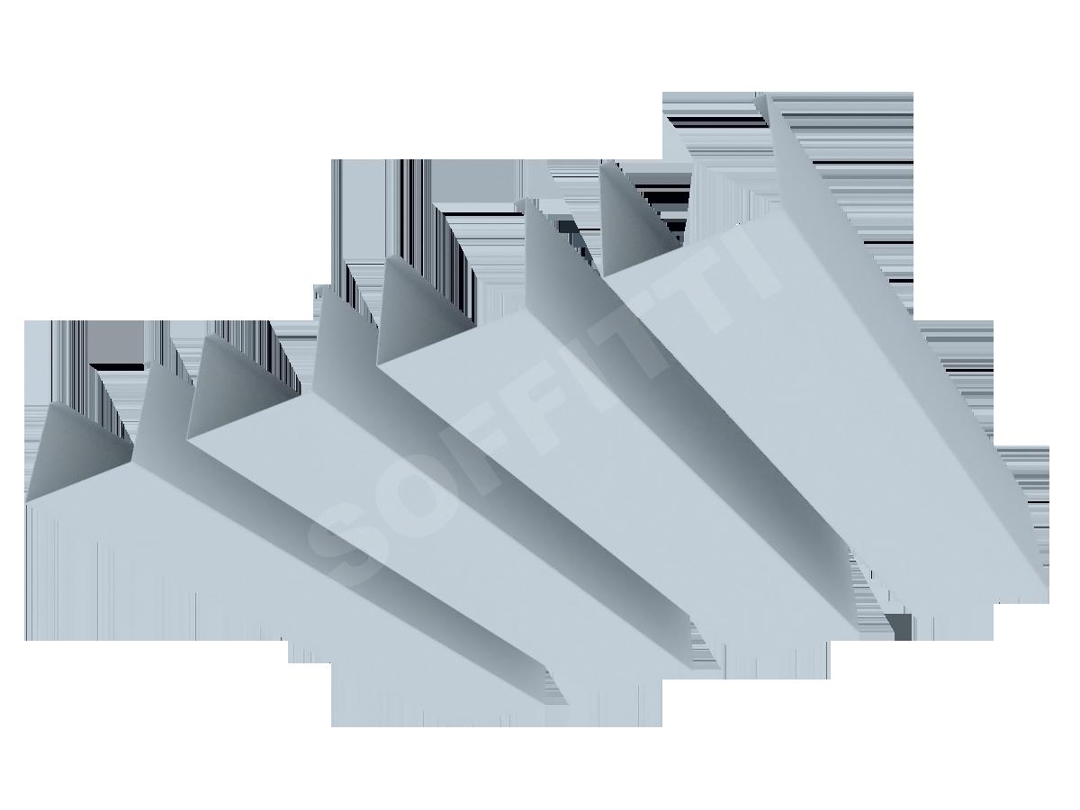 """Кубообразная рейка """"Сканди"""" 60x48 мм"""
