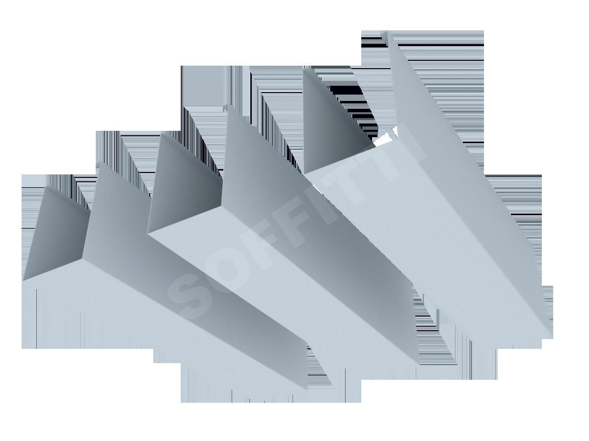 """Кубообразная рейка """"Сканди"""" 60x85 мм"""