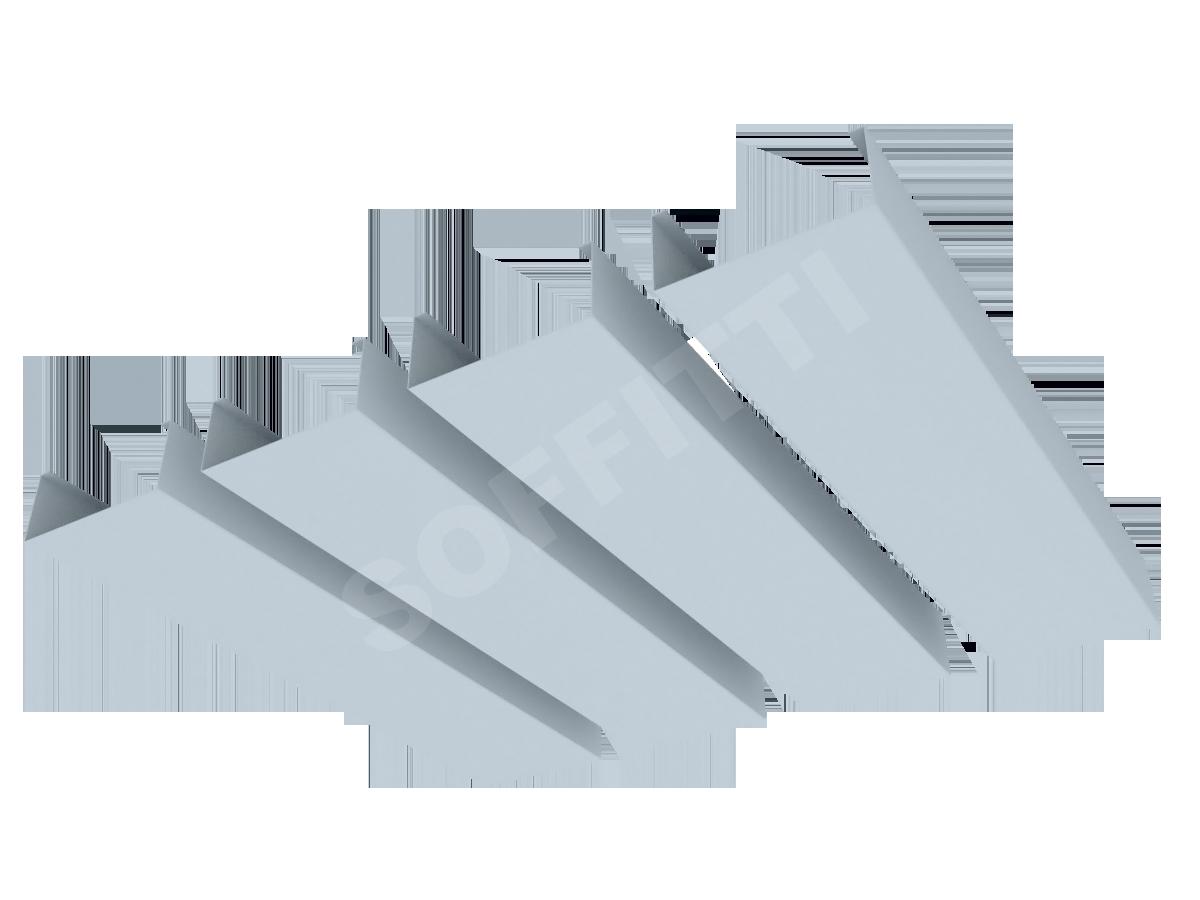 """Кубообразная рейка """"Сканди"""" 70x30 мм"""