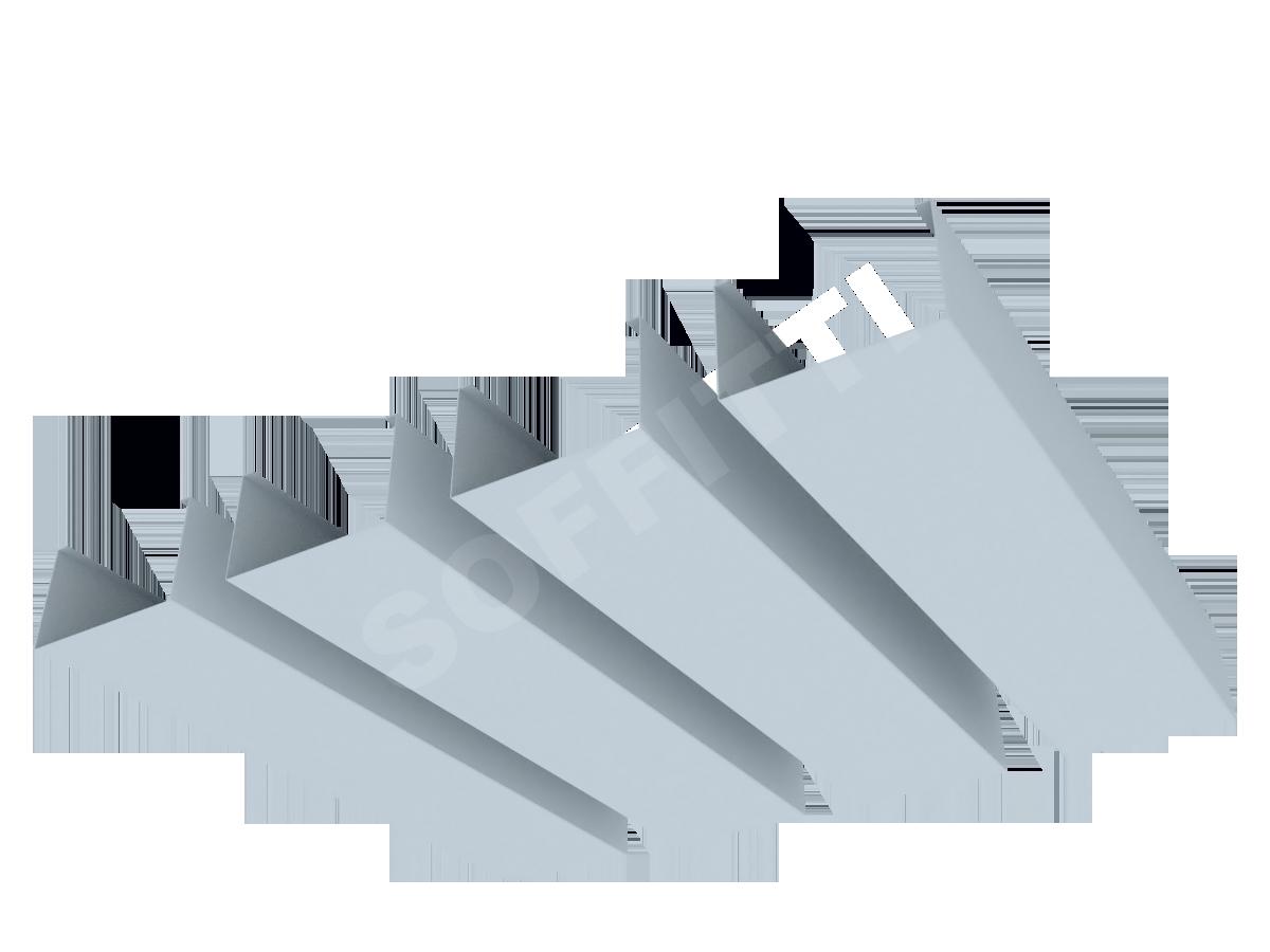 """Кубообразная рейка """"Сканди"""" 70x43 мм"""