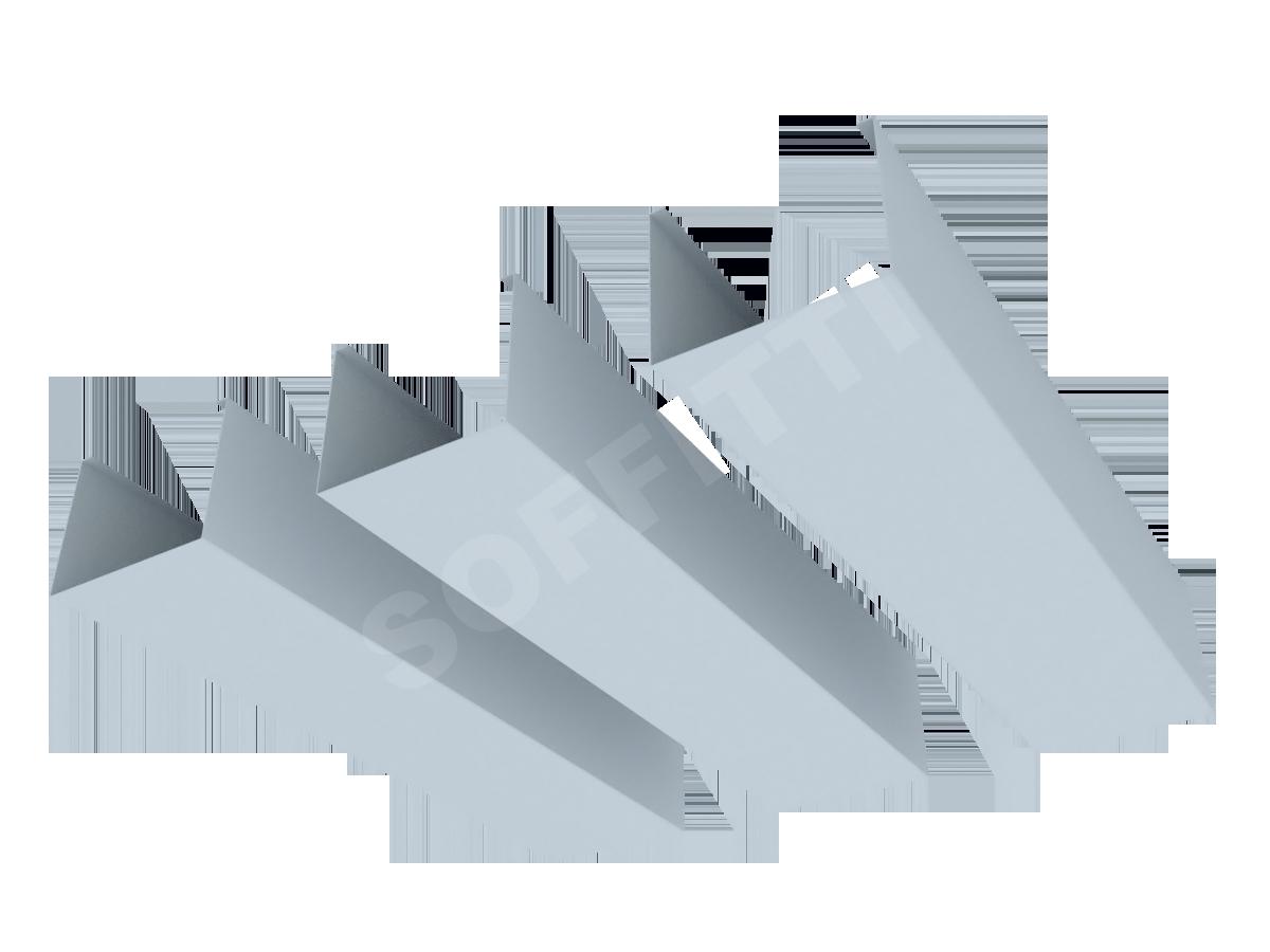 """Кубообразная рейка """"Сканди"""" 70x55 мм"""