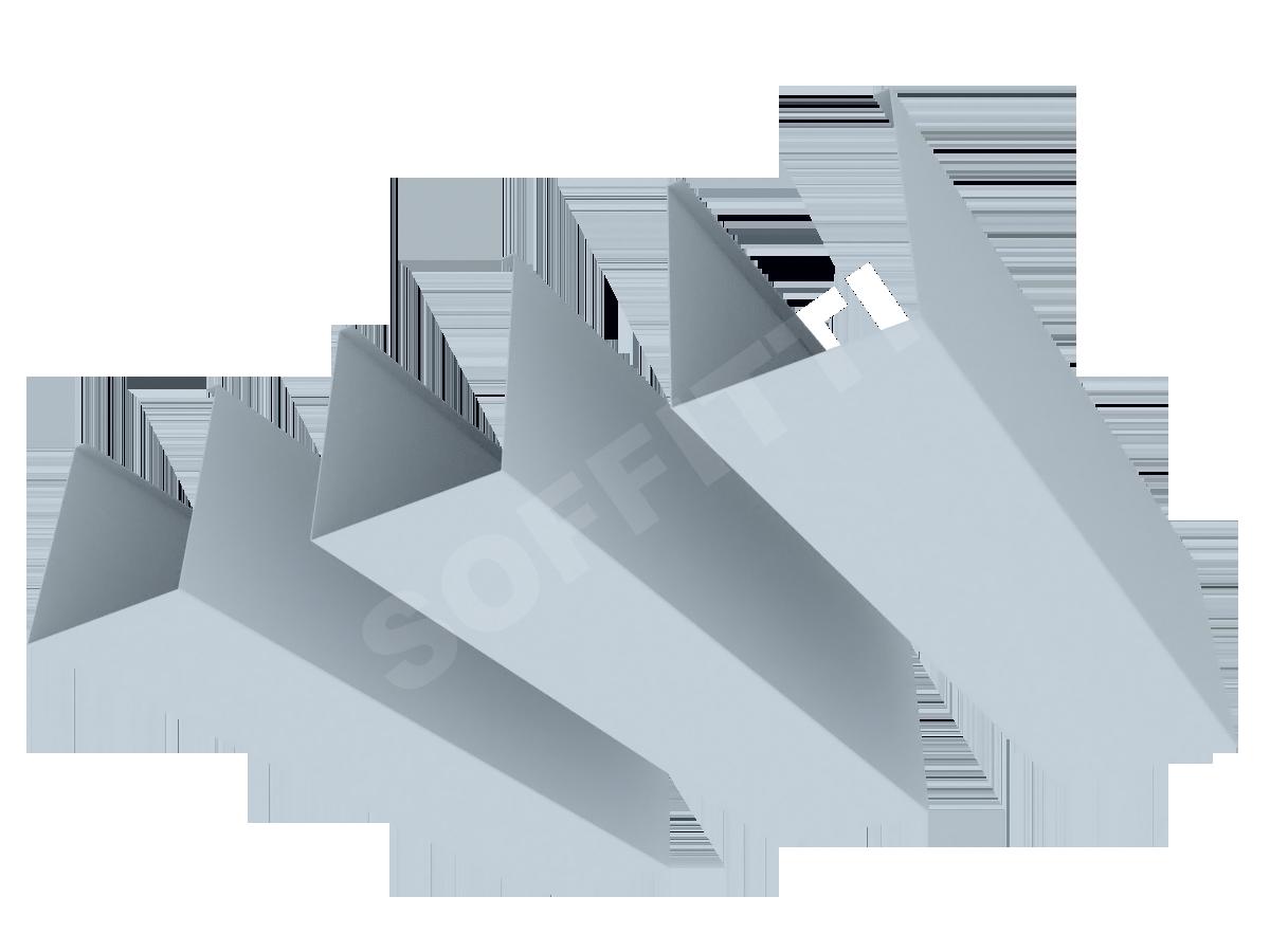 """Кубообразная рейка """"Сканди"""" 70x80 мм"""
