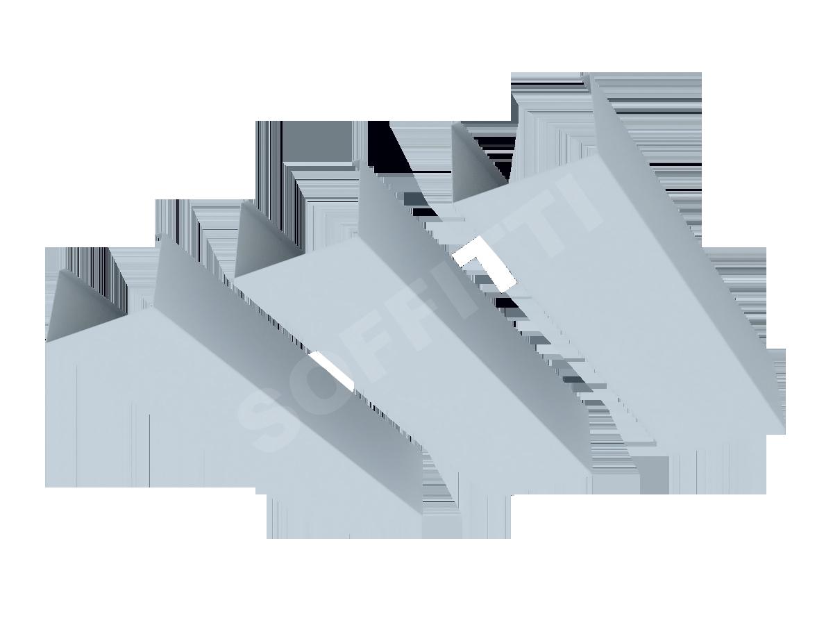 Кубообразная рейка Албес A95S 75x50 мм