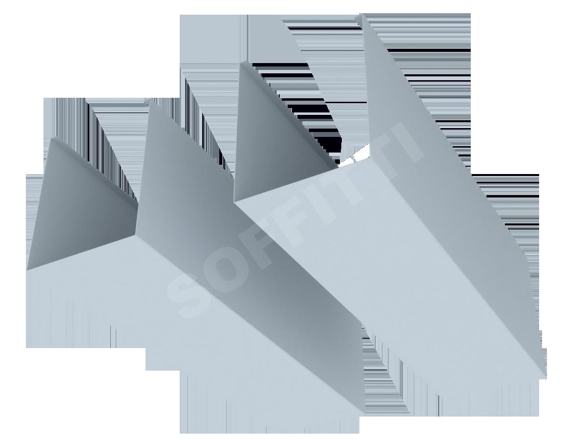 Кубообразная рейка Албес A100S 80x100 мм