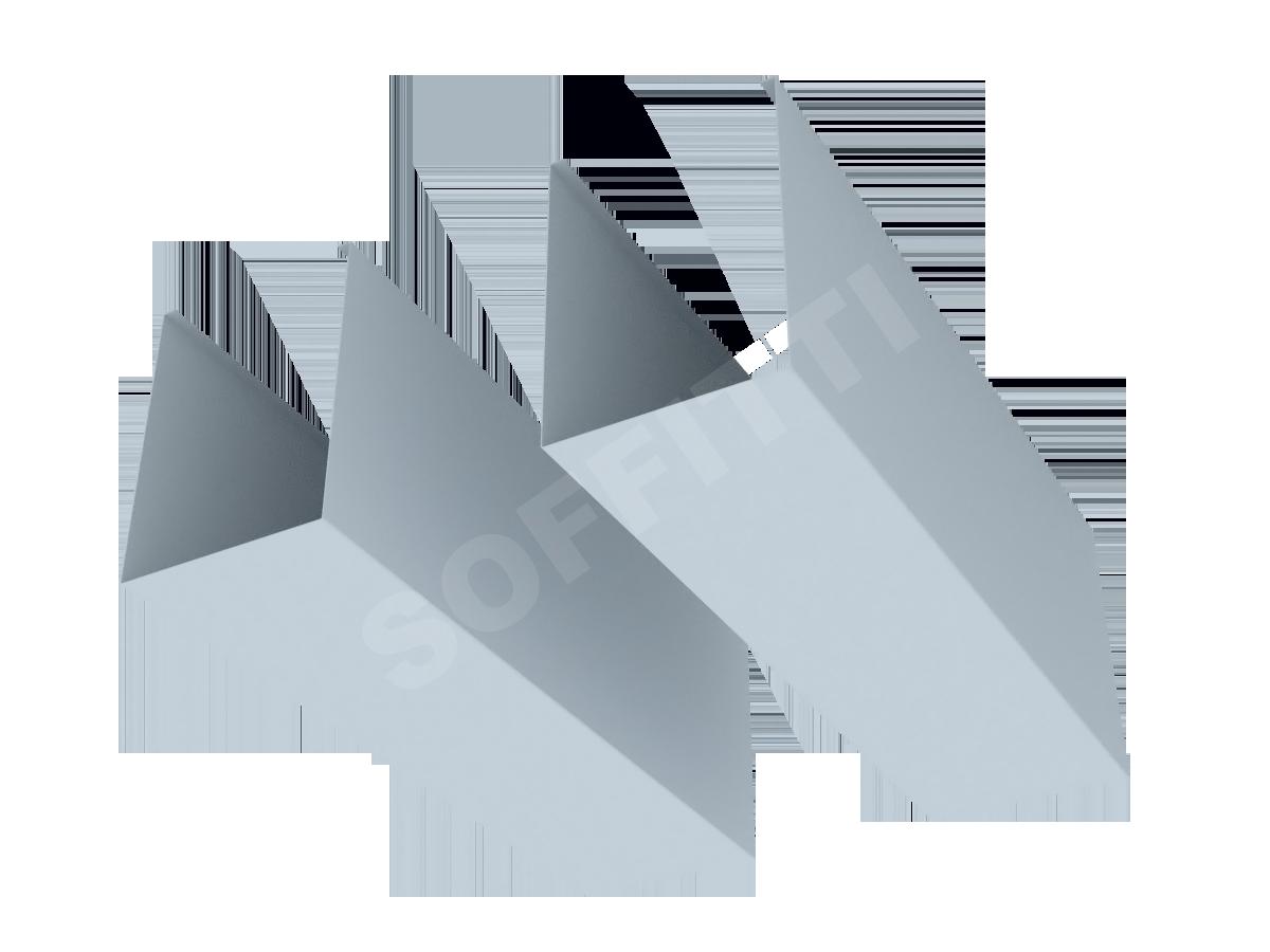 "Кубообразная рейка ""Униформ"" 80x110 мм"