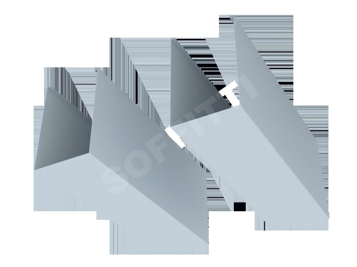 """Кубообразная рейка """"Сканди"""" 80x125 мм"""