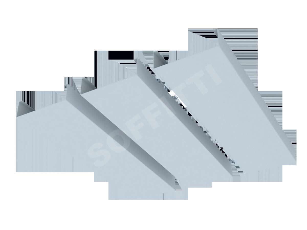 """Кубообразная рейка """"Сканди"""" 80x25 мм"""