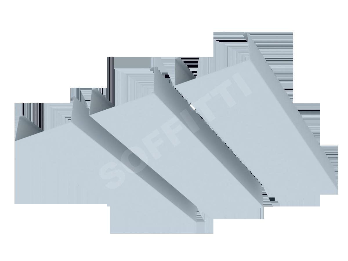 Кубообразная рейка Албес A100S 80x35 мм