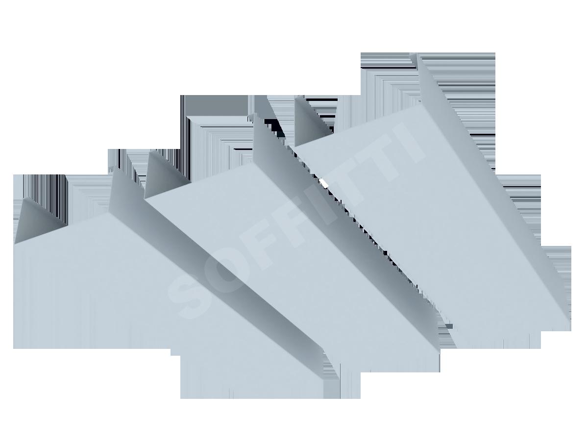 """Кубообразная рейка """"Сканди"""" 80x38 мм"""