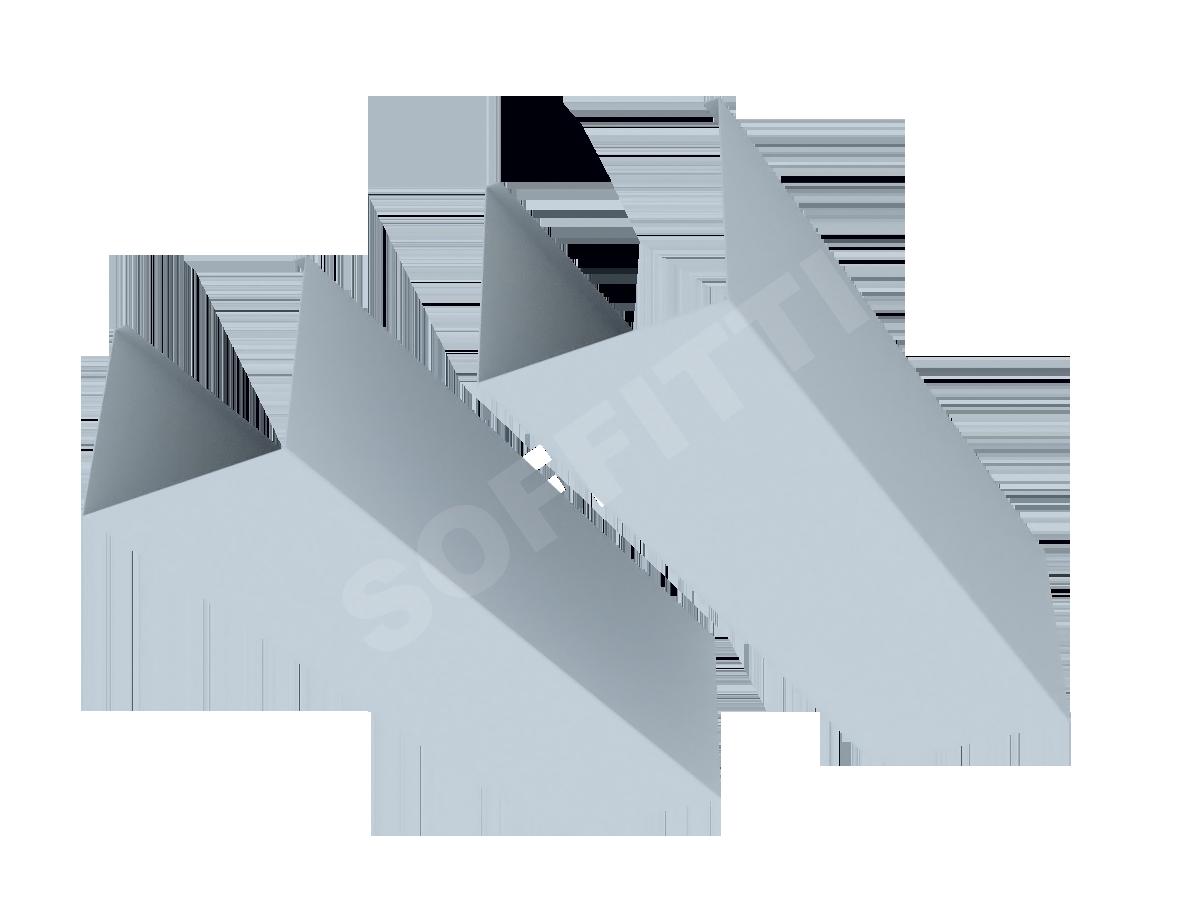 """Кубообразная рейка """"Сканди"""" 80x75 мм"""