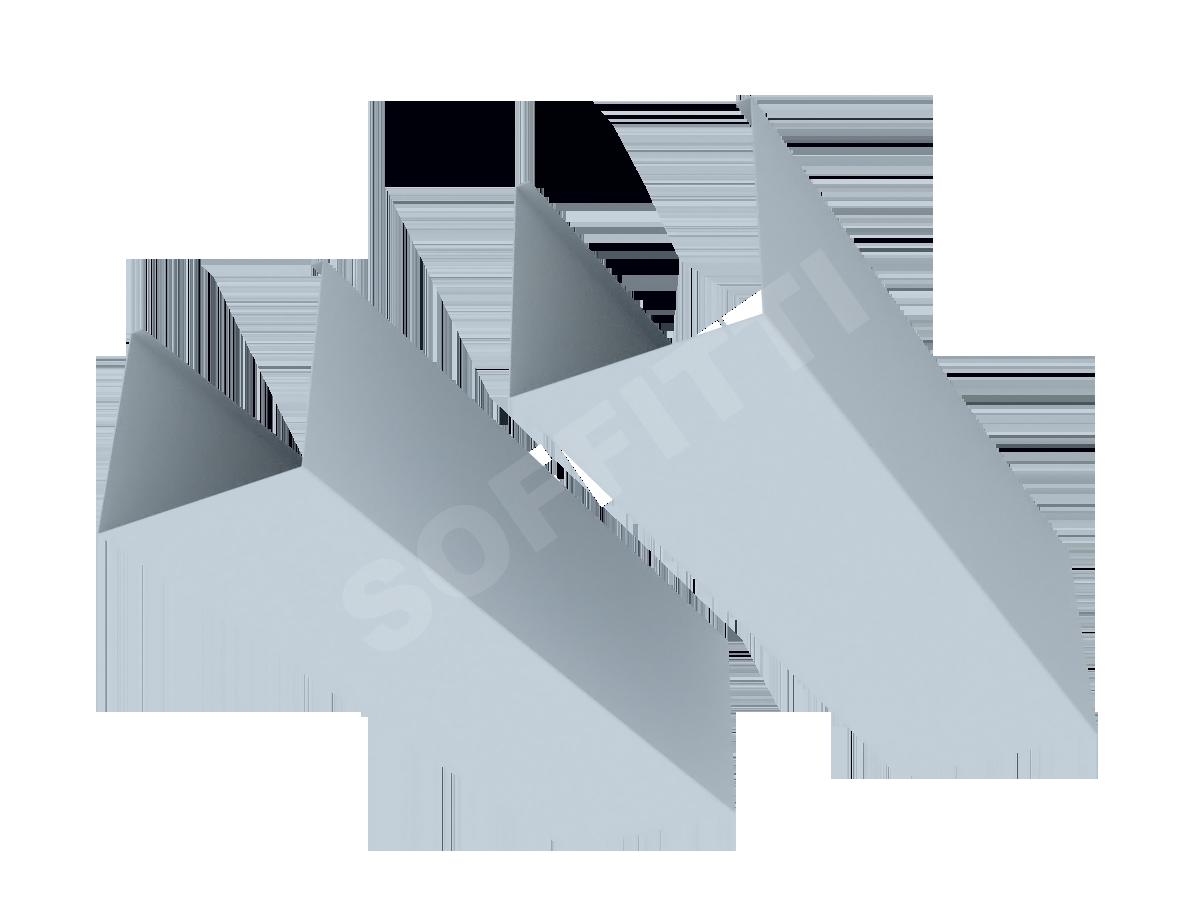 Кубообразная рейка Албес A100S 80x80 мм