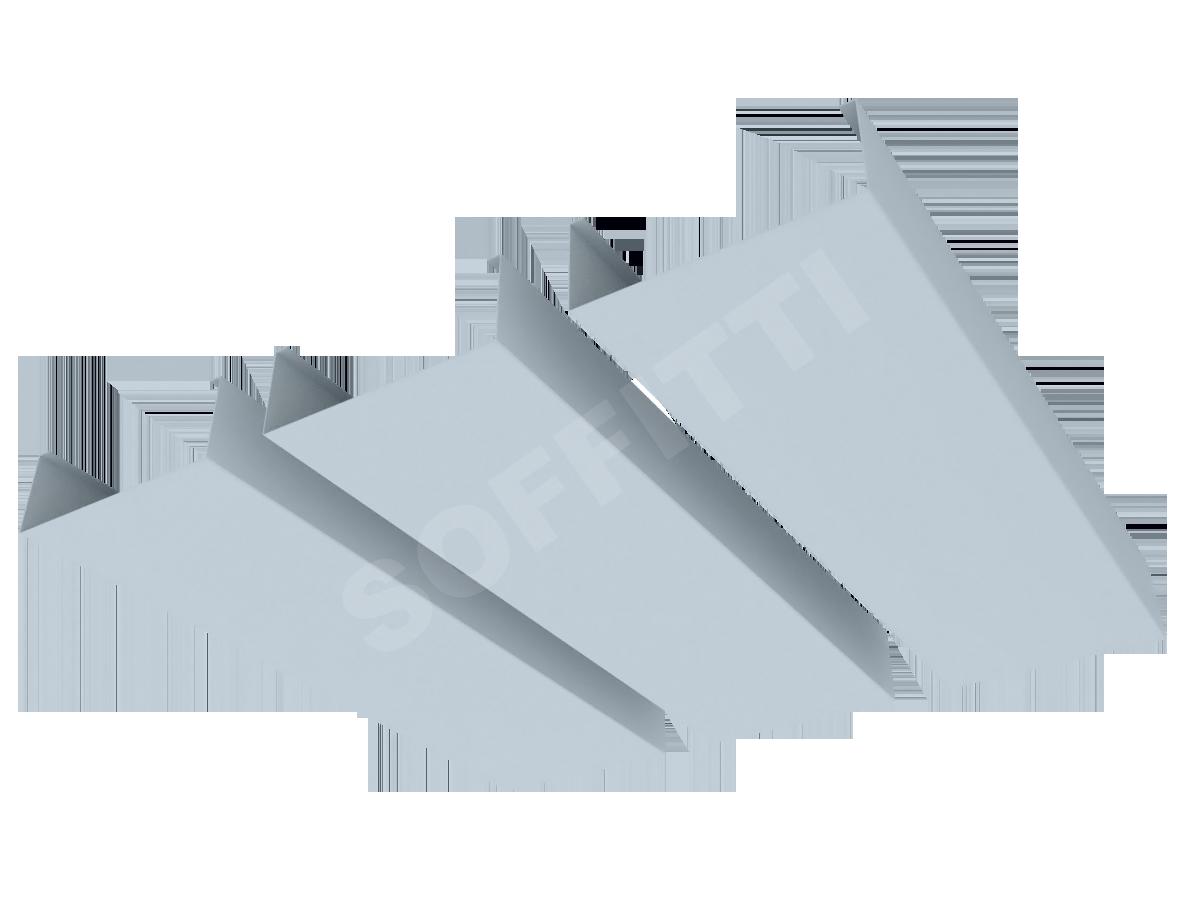 """Кубообразная рейка """"Сканди"""" 90x33 мм"""