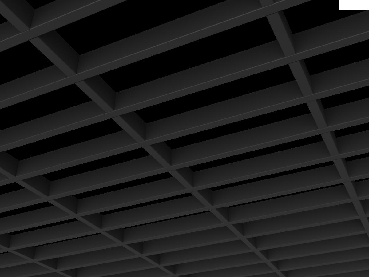 Грильято GL15-жалюзи 300х100 мм h47 черный (оцин. сталь)