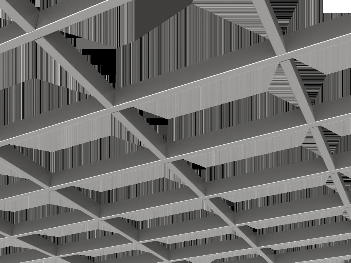 Грильято GL15-жалюзи 300х200 мм h47 серебристый (оцин. сталь)