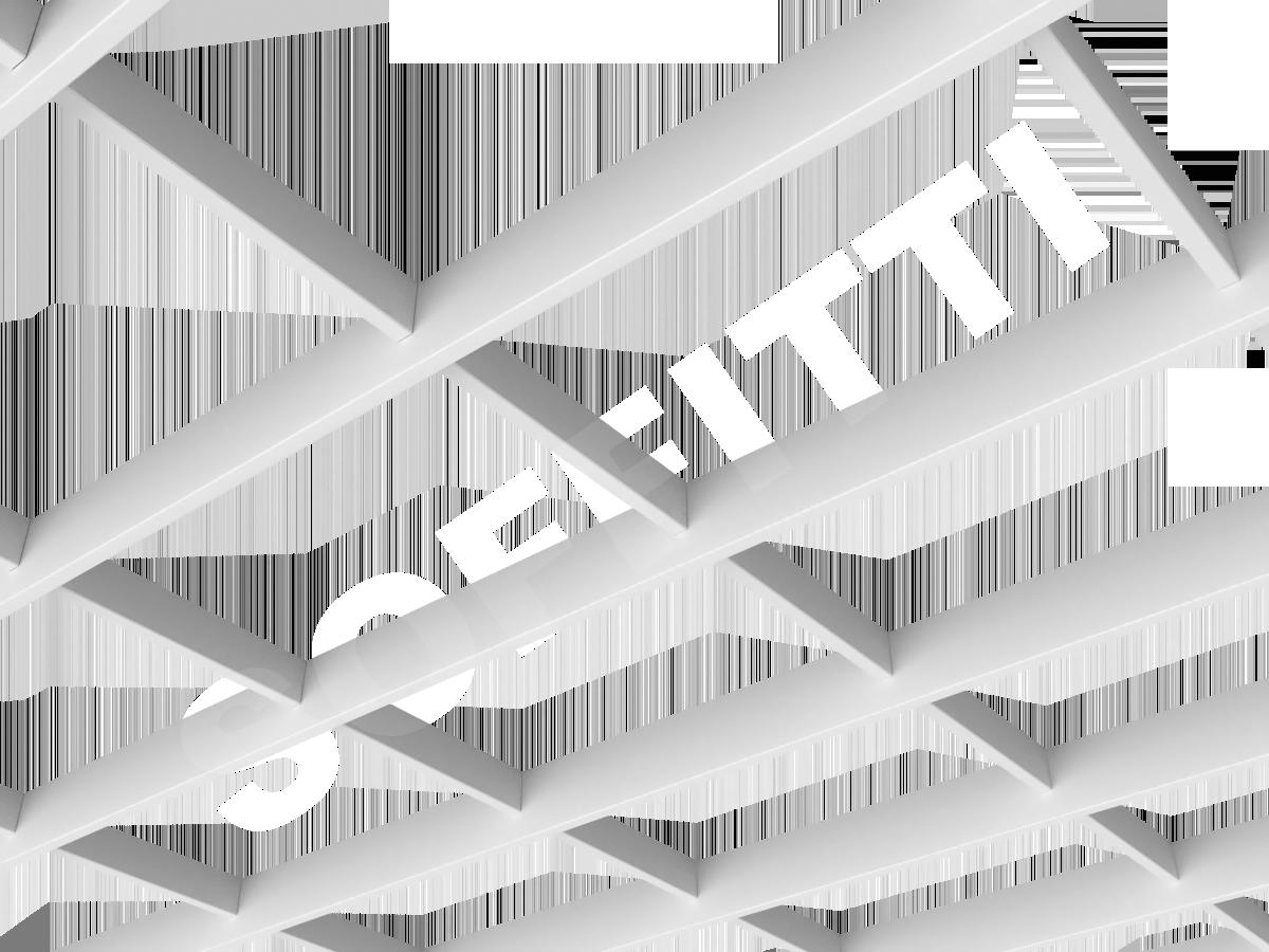 Потолок Грильято-жалюзи 300х200 мм белый