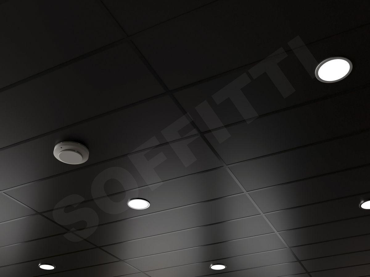 Кассетный потолок Board 1200x300мм черный