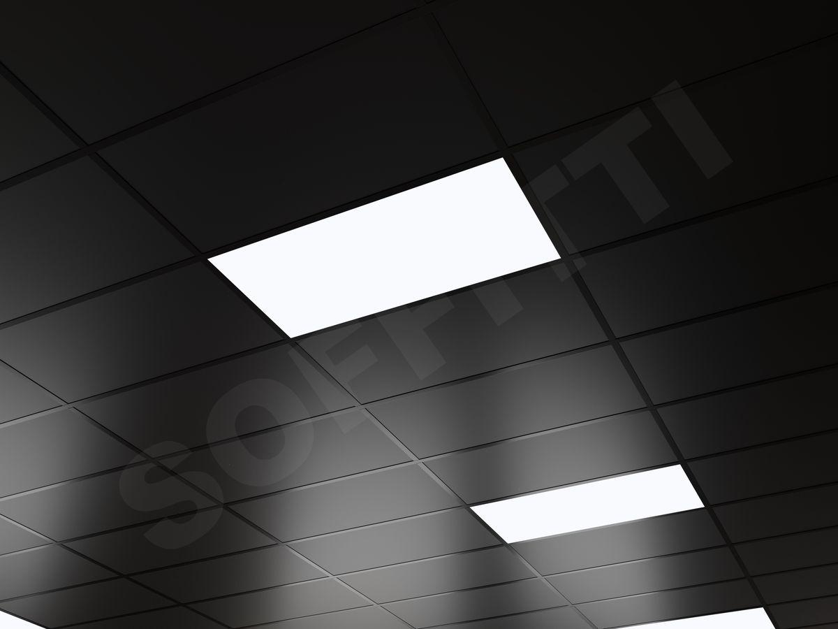 Кассетный потолок Board 600x300мм черный