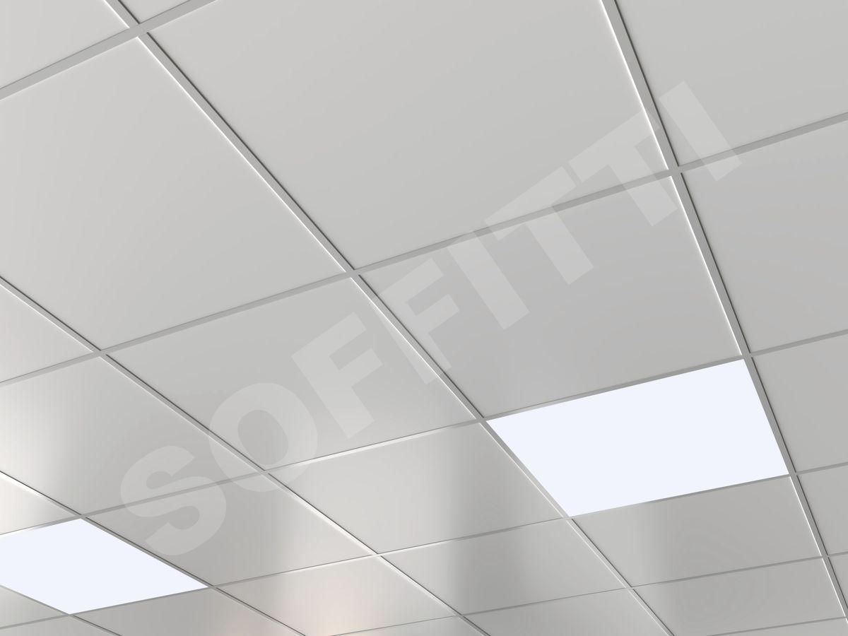 Кассета Албес AP600 Board белая оцинковка 9003