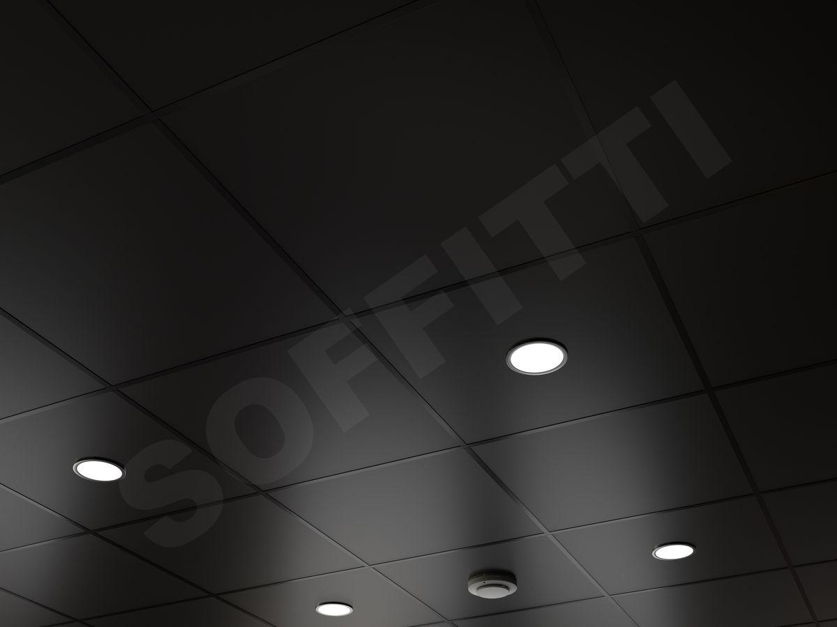 Кассетный потолок Board 600x600мм черный