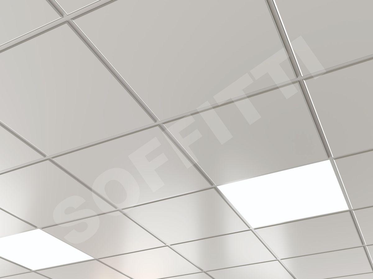 Кассета Албес AP600A8/45°/T-15 Microlook белая оцинковка 9003