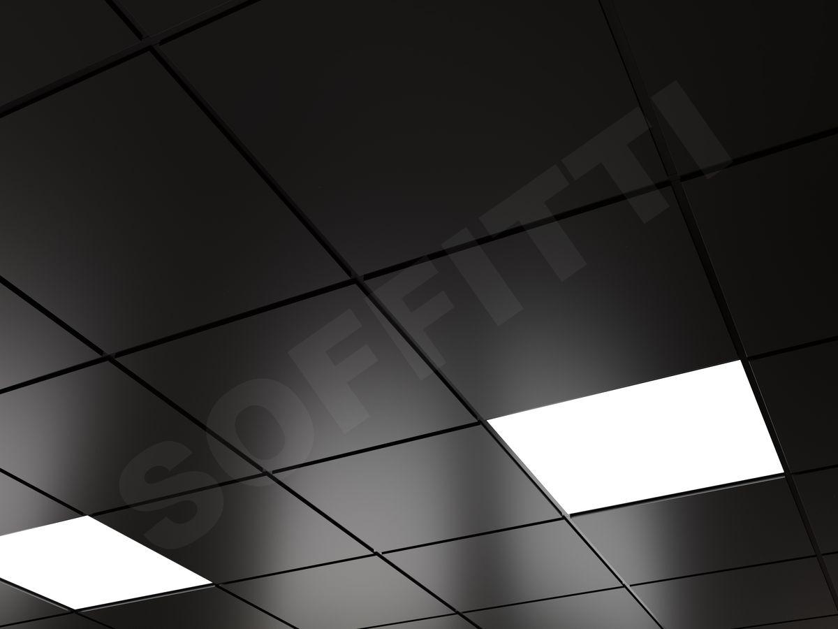 Кассетный потолок Microlook 600х600мм черный