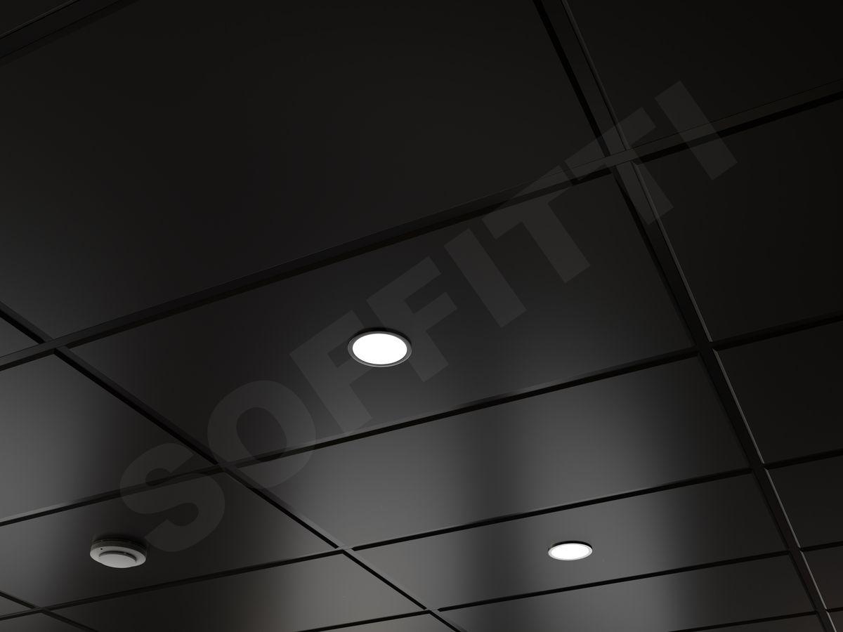 Кассетный потолок Tegular 1200x600мм черный