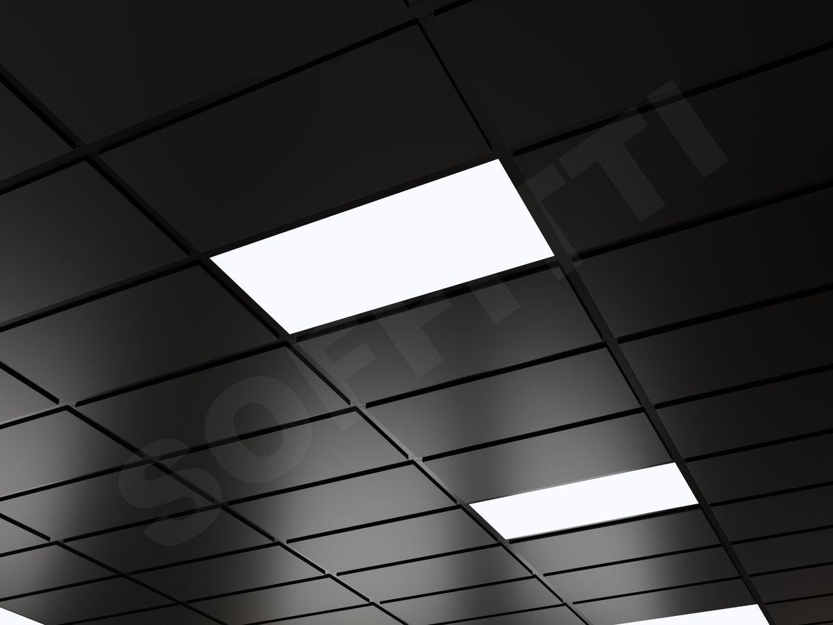Кассетный потолок Tegular 600x300мм черный