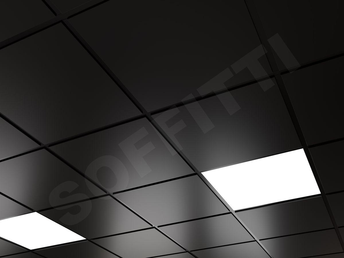 Кассетный потолок Tegular 600x600мм черный