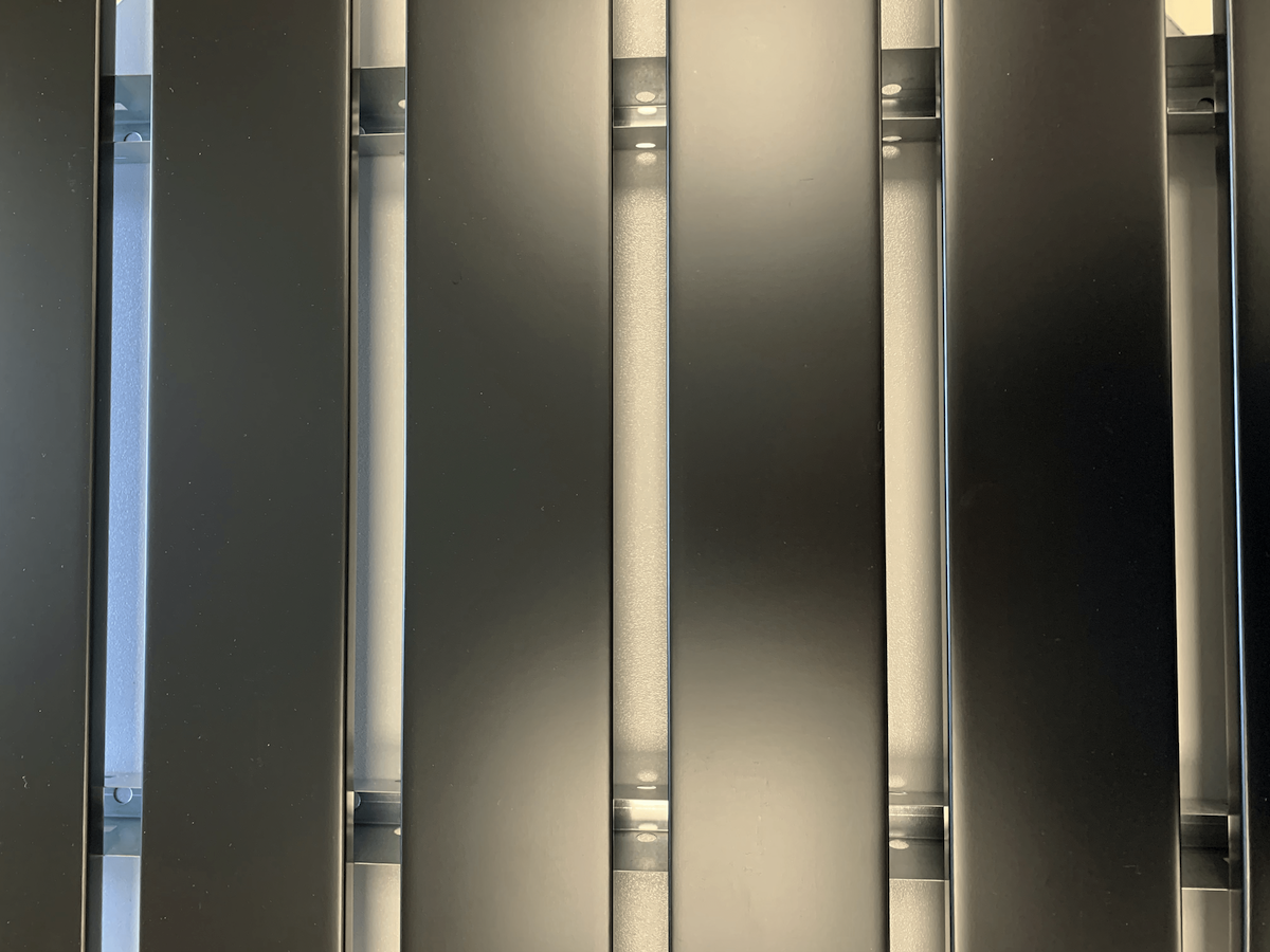 "Кубообразная рейка ""Комби"" 80x15 мм"
