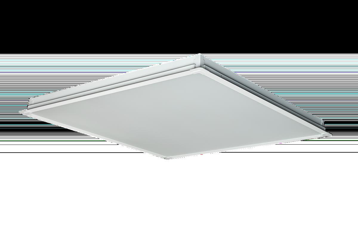 Светильник LED Alumogips Opal 38Вт 5000K 3800Лм 595х595x40мм доп. вид