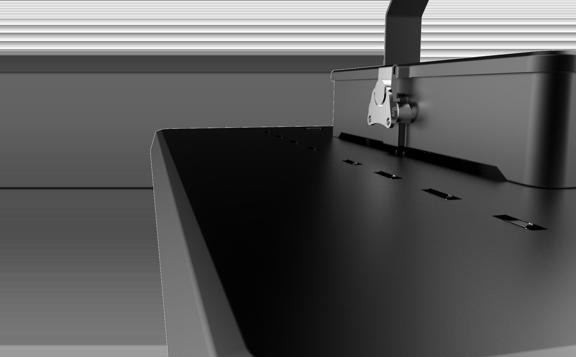 Светильник LED Aura 100Вт 5000К/6500К 16000лм 350x300x103мм доп. вид
